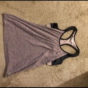 INmotion Maurices Workout Top with Built In Bra